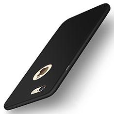 Handyhülle Hülle Kunststoff Schutzhülle Tasche Matt P09 für Apple iPhone 6 Schwarz