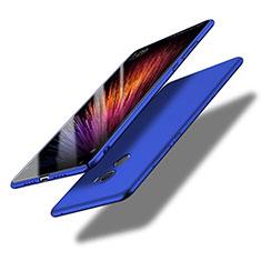 Handyhülle Hülle Kunststoff Schutzhülle Tasche Matt Q01 für Xiaomi Mi Mix Evo Blau