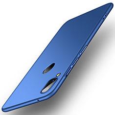 Handyhülle Hülle Kunststoff Schutzhülle Tasche Matt R01 für Huawei Y9 (2019) Blau