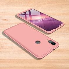 Handyhülle Hülle Kunststoff Schutzhülle Tasche Matt Vorder und Rückseite 360 Grad für Xiaomi Mi Play 4G Rosa