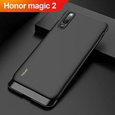 Handyhülle Hülle Kunststoff Schutzhülle Tasche Matt Vorder und Rückseite 360 Grad M01 für Huawei Honor Magic 2 Schwarz