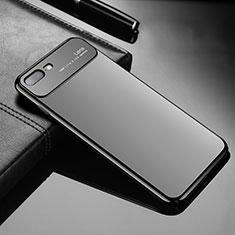 Handyhülle Hülle Kunststoff Schutzhülle Tasche Matt Z01 für Apple iPhone 8 Plus Schwarz