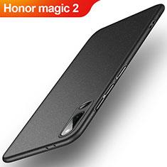 Handyhülle Hülle Kunststoff Schutzhülle Tasche Treibsand für Huawei Honor Magic 2 Schwarz