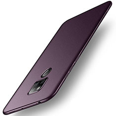 Handyhülle Hülle Kunststoff Schutzhülle Tasche Treibsand für Huawei Mate 20 X 5G Violett