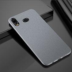 Handyhülle Hülle Kunststoff Schutzhülle Tasche Treibsand für Samsung Galaxy A6s Silber