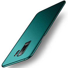 Handyhülle Hülle Kunststoff Schutzhülle Tasche Treibsand für Samsung Galaxy S9 Plus Grün