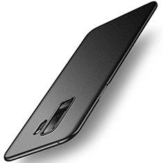 Handyhülle Hülle Kunststoff Schutzhülle Tasche Treibsand für Samsung Galaxy S9 Plus Schwarz