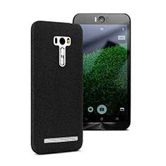 Handyhülle Hülle Kunststoff Schutzhülle Treibsand für Asus Zenfone Selfie ZD551KL Schwarz