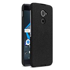 Handyhülle Hülle Kunststoff Schutzhülle Treibsand für Blackberry DTEK60 Schwarz
