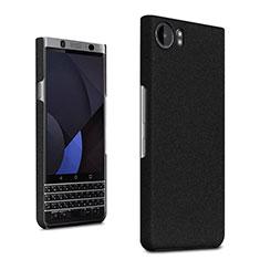 Handyhülle Hülle Kunststoff Schutzhülle Treibsand für Blackberry KEYone Schwarz