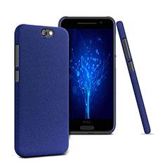 Handyhülle Hülle Kunststoff Schutzhülle Treibsand für HTC One A9 Blau
