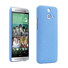 Handyhülle Hülle Kunststoff Schutzhülle Treibsand für HTC One E8 Blau
