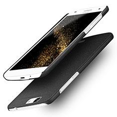 Handyhülle Hülle Kunststoff Schutzhülle Treibsand für Huawei Ascend G7 Schwarz