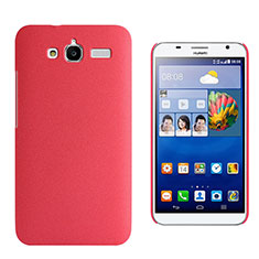 Handyhülle Hülle Kunststoff Schutzhülle Treibsand für Huawei Ascend GX1 Rot