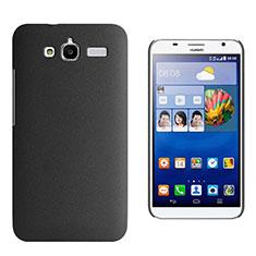 Handyhülle Hülle Kunststoff Schutzhülle Treibsand für Huawei Ascend GX1 Schwarz