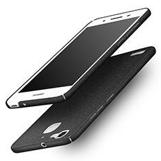 Handyhülle Hülle Kunststoff Schutzhülle Treibsand für Huawei Enjoy 5S Schwarz