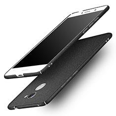 Handyhülle Hülle Kunststoff Schutzhülle Treibsand für Huawei Enjoy 7 Plus Schwarz