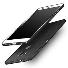 Handyhülle Hülle Kunststoff Schutzhülle Treibsand für Huawei Honor 5X Schwarz