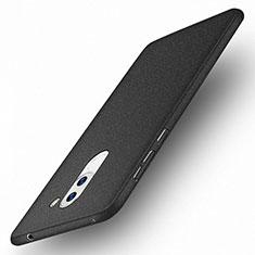 Handyhülle Hülle Kunststoff Schutzhülle Treibsand für Huawei Honor 6X Schwarz