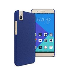 Handyhülle Hülle Kunststoff Schutzhülle Treibsand für Huawei Honor 7i shot X Blau