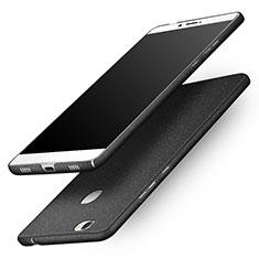 Handyhülle Hülle Kunststoff Schutzhülle Treibsand für Huawei Honor V8 Max Schwarz