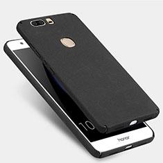 Handyhülle Hülle Kunststoff Schutzhülle Treibsand für Huawei Honor V8 Schwarz