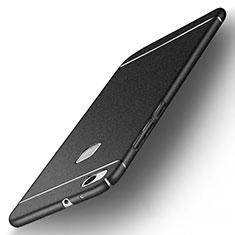 Handyhülle Hülle Kunststoff Schutzhülle Treibsand für Huawei P10 Lite Schwarz