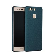 Handyhülle Hülle Kunststoff Schutzhülle Treibsand für Huawei P9 Grün
