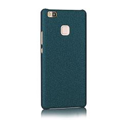 Handyhülle Hülle Kunststoff Schutzhülle Treibsand für Huawei P9 Lite Blau