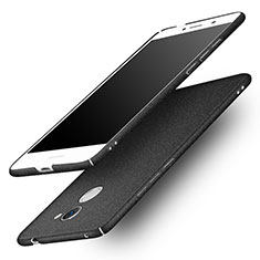 Handyhülle Hülle Kunststoff Schutzhülle Treibsand für Huawei Y7 Prime Schwarz