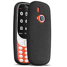 Handyhülle Hülle Kunststoff Schutzhülle Treibsand für Nokia 3310 (2017) Schwarz