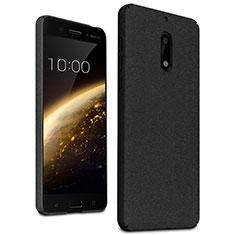 Handyhülle Hülle Kunststoff Schutzhülle Treibsand für Nokia 6 Schwarz