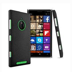 Handyhülle Hülle Kunststoff Schutzhülle Treibsand für Nokia Lumia 830 Schwarz