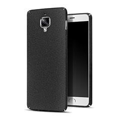 Handyhülle Hülle Kunststoff Schutzhülle Treibsand für OnePlus 3T Schwarz