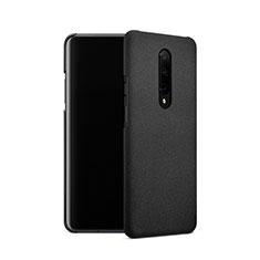 Handyhülle Hülle Kunststoff Schutzhülle Treibsand für OnePlus 7 Pro Schwarz