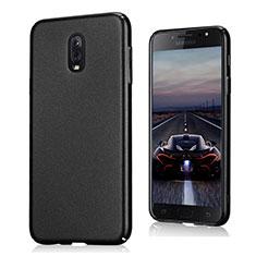 Handyhülle Hülle Kunststoff Schutzhülle Treibsand für Samsung Galaxy C7 (2017) Schwarz