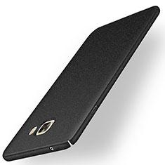 Handyhülle Hülle Kunststoff Schutzhülle Treibsand für Samsung Galaxy C9 Pro C9000 Schwarz