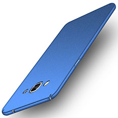 Handyhülle Hülle Kunststoff Schutzhülle Treibsand für Samsung Galaxy J3 Pro (2016) J3110 Blau