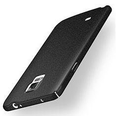 Handyhülle Hülle Kunststoff Schutzhülle Treibsand für Samsung Galaxy Note 4 SM-N910F Schwarz