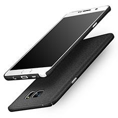 Handyhülle Hülle Kunststoff Schutzhülle Treibsand für Samsung Galaxy Note 5 N9200 N920 N920F Schwarz