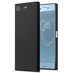 Handyhülle Hülle Kunststoff Schutzhülle Treibsand für Sony Xperia XZ Premium Schwarz