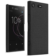 Handyhülle Hülle Kunststoff Schutzhülle Treibsand für Sony Xperia XZ1 Compact Schwarz
