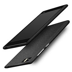 Handyhülle Hülle Kunststoff Schutzhülle Treibsand für Xiaomi Mi 3 Schwarz