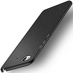 Handyhülle Hülle Kunststoff Schutzhülle Treibsand für Xiaomi Mi 5S Schwarz