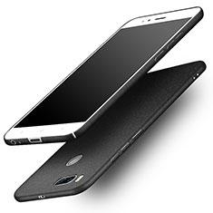 Handyhülle Hülle Kunststoff Schutzhülle Treibsand für Xiaomi Mi A1 Schwarz