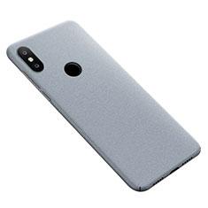 Handyhülle Hülle Kunststoff Schutzhülle Treibsand für Xiaomi Mi Max 3 Grau