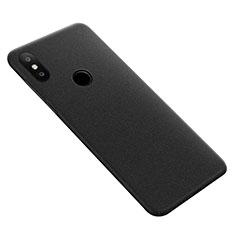 Handyhülle Hülle Kunststoff Schutzhülle Treibsand für Xiaomi Mi Max 3 Schwarz