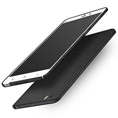 Handyhülle Hülle Kunststoff Schutzhülle Treibsand für Xiaomi Mi Note Schwarz