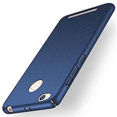 Handyhülle Hülle Kunststoff Schutzhülle Treibsand für Xiaomi Redmi 3 Pro Blau