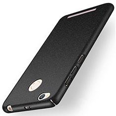 Handyhülle Hülle Kunststoff Schutzhülle Treibsand für Xiaomi Redmi 3 Pro Schwarz